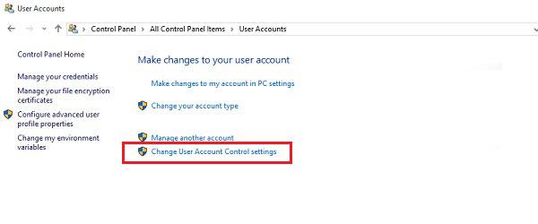 Hướng dẫn chi tiết cách tắt User Account Control (UAC) trên Windows 10 7