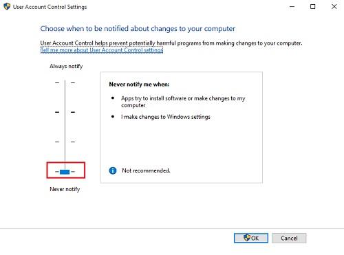 Hướng dẫn chi tiết cách tắt User Account Control (UAC) trên Windows 10 8