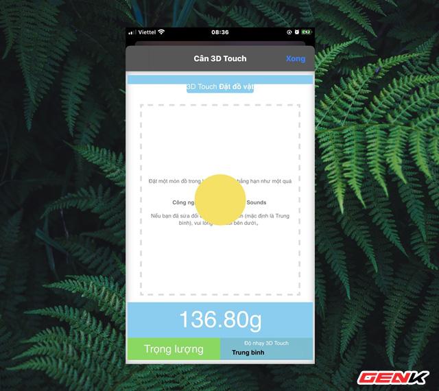 Cách hô biến iPhone thành cân điện tử cực đơn giản 12
