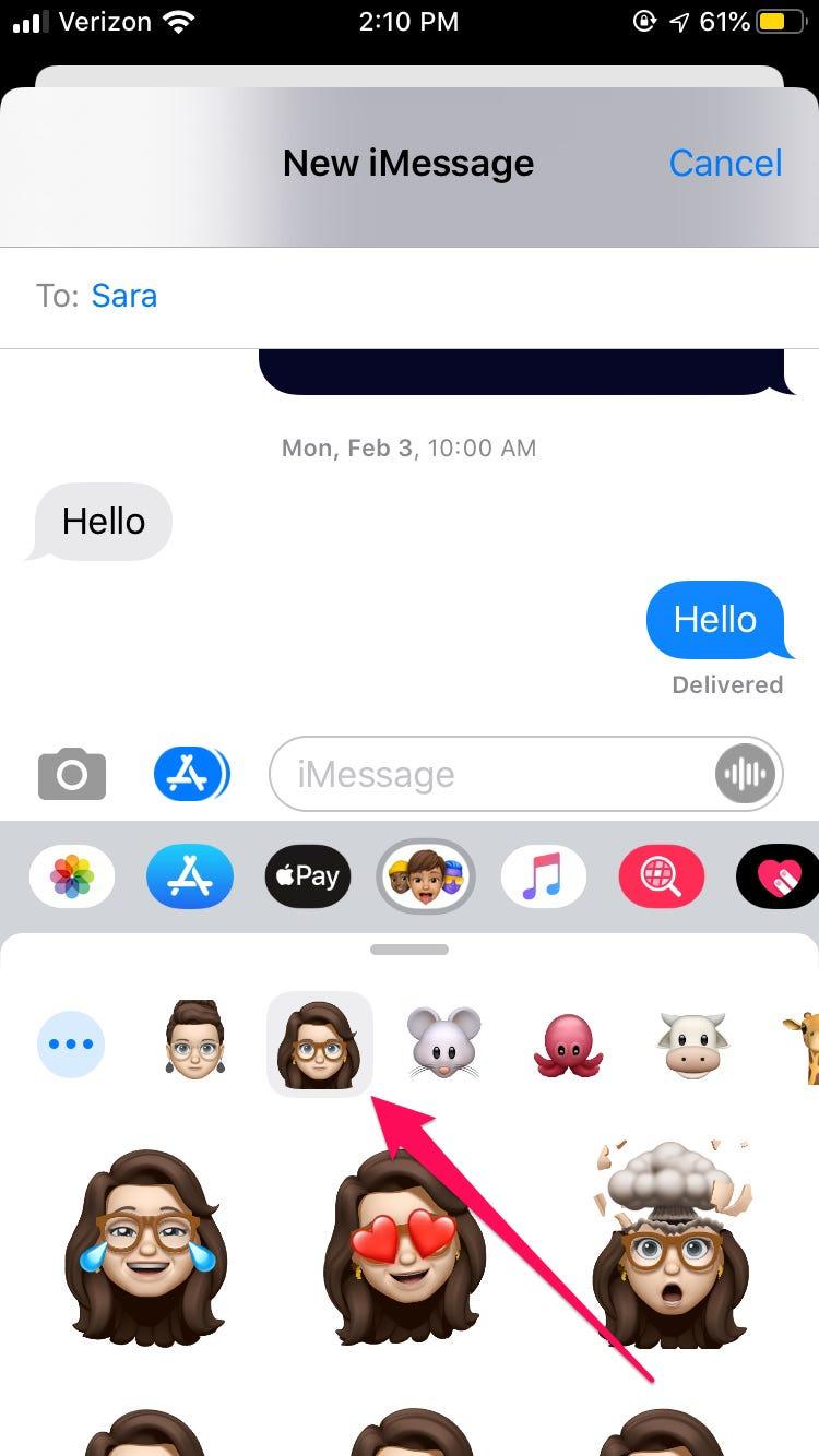 Cách chỉnh sửa Memoji của bạn trong iOS 13 trên iPhone 5