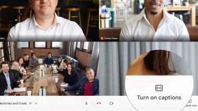 Hướng dẫn cách sử dụng chú thích trong cuộc họp video trên Google Meet 9