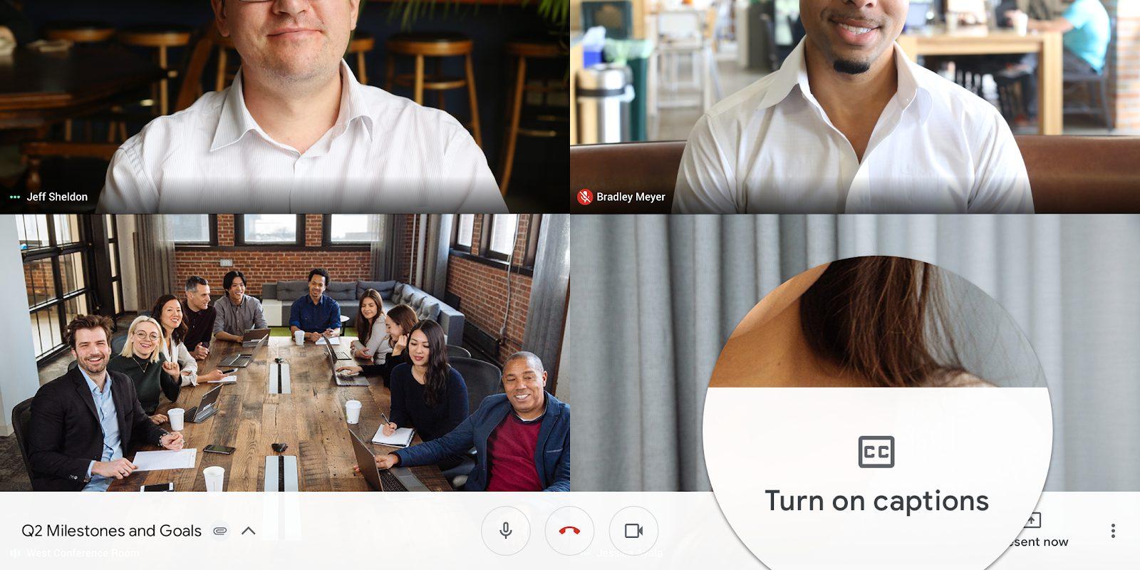 Hướng dẫn cách sử dụng chú thích trong cuộc họp video trên Google Meet
