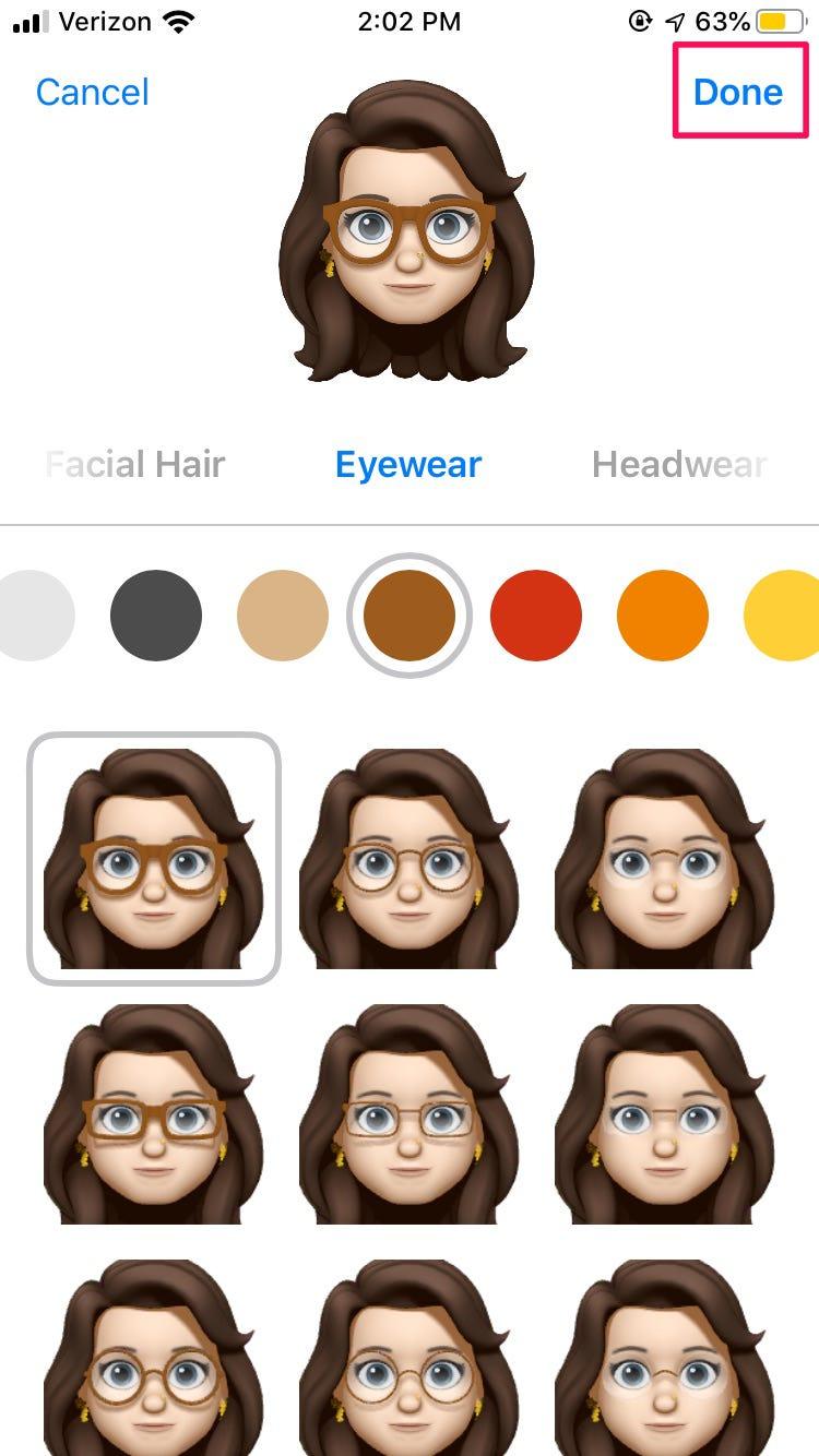 Cách chỉnh sửa Memoji của bạn trong iOS 13 trên iPhone 4