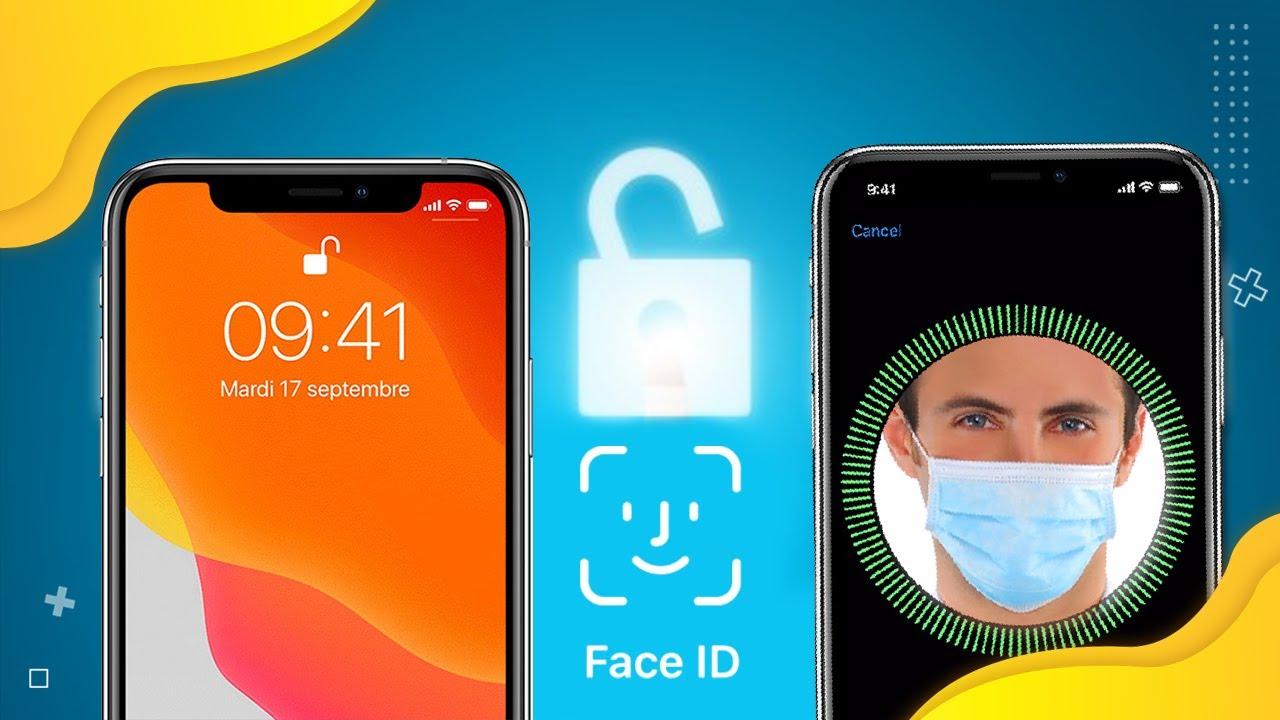 Bật mí cách mở khoá iPhone bằng Face ID khi đeo khẩu trang