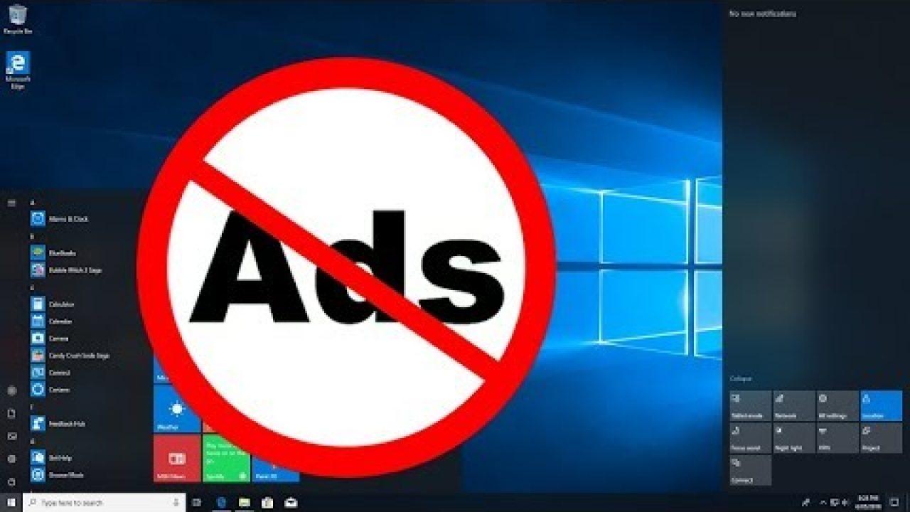 Cách tắt tất cả quảng cáo khó ưa được tích hợp sẵn trong Windows 10