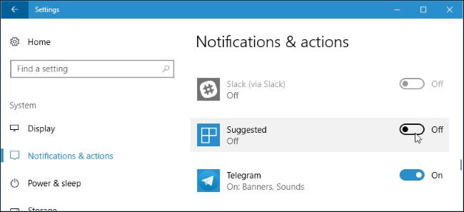 Hướng dẫn đầy đủ tất cả các cách tắt thông báo trên Windows 10 12