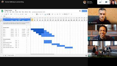 Hướng dẫn cách thay đổi bố cục màn hình trong cuộc họp video trên Google Meet 4