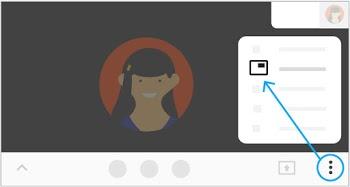 Hướng dẫn cách thay đổi bố cục màn hình trong cuộc họp video trên Google Meet 1