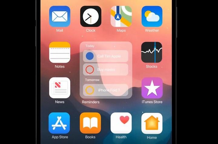 Ngắm ý tưởng iOS 14 mới với khả năng chia đôi màn hình, widget, dock và nhiều tính năng thú vị khác 3