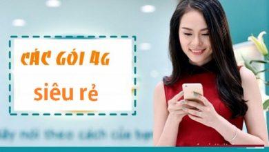 Các gói cước 4G Viettel, Vinaphone, Mobifone giá rẻ dung lượng cao 3