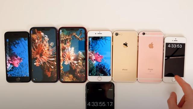 Thử so kè thời lượng pin của iPhone SE 2020 với các đàn anh tiềm nhiệm: Liệu phần thắng sẽ thuộc về ai? 5