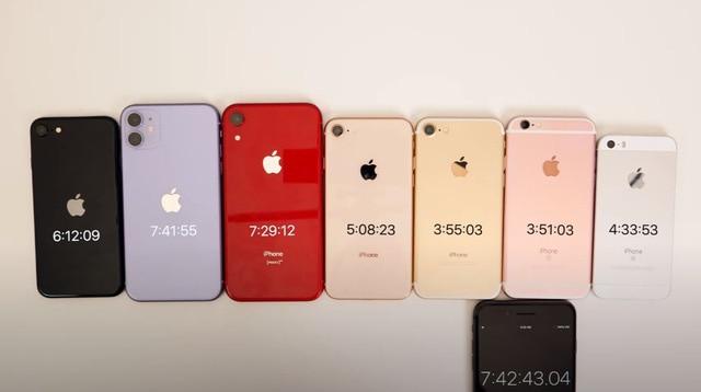 Thử so kè thời lượng pin của iPhone SE 2020 với các đàn anh tiềm nhiệm: Liệu phần thắng sẽ thuộc về ai? 6