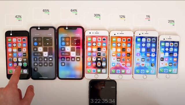 Thử so kè thời lượng pin của iPhone SE 2020 với các đàn anh tiềm nhiệm: Liệu phần thắng sẽ thuộc về ai? 3