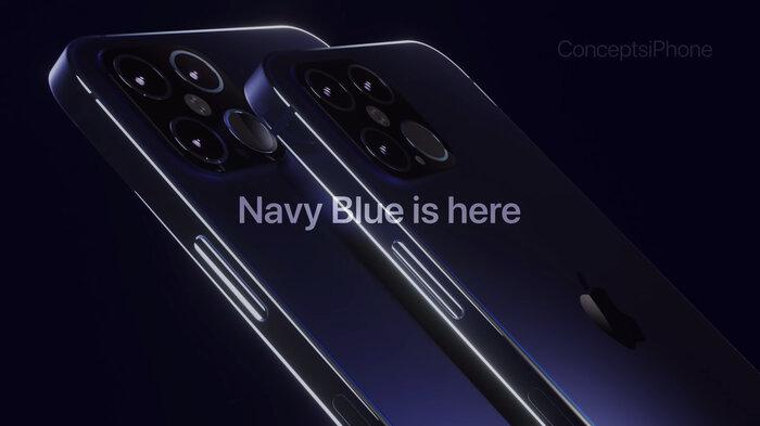 iPhone 12 Pro đẹp như mơ với phiên bản màu xanh Navy Blue, 4 camera siêu khủng 2