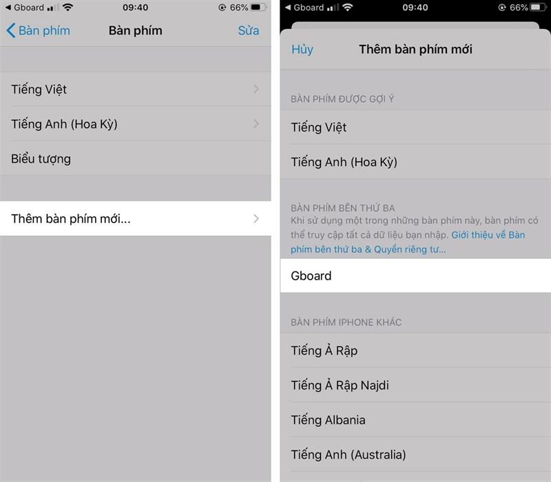 Hướng dẫn dịch ngôn ngữ trực tiếp trên thời gian thực bàn phím iPhone 2
