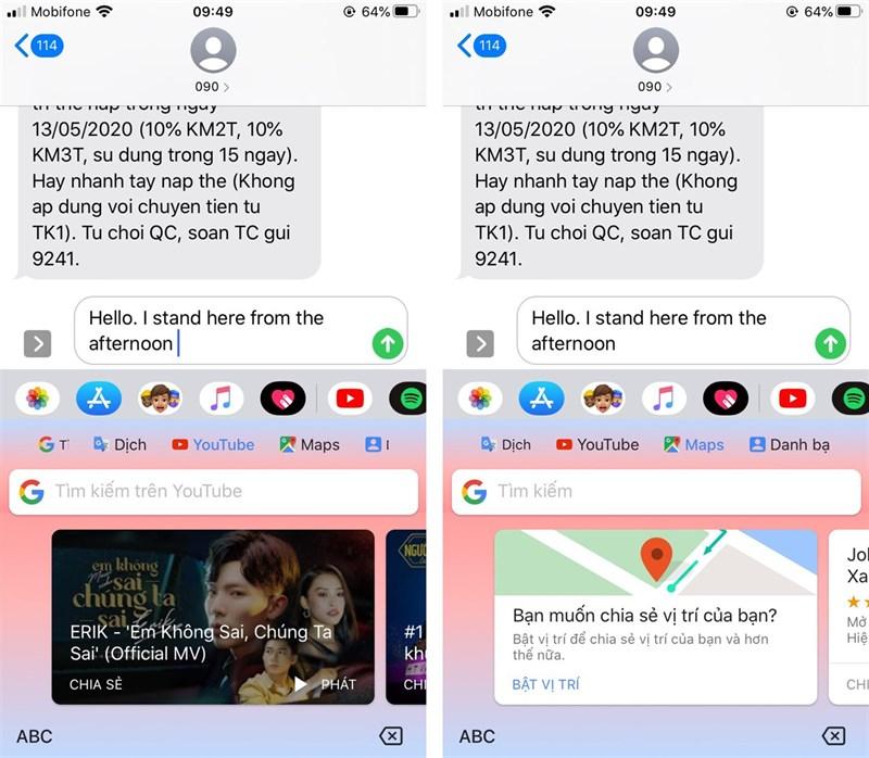 Hướng dẫn dịch ngôn ngữ trực tiếp trên thời gian thực bàn phím iPhone 6