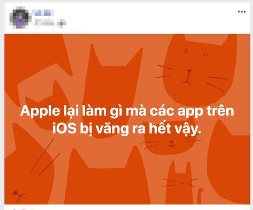 NÓNG: Hàng loạt ứng dụng trên iPhone đang bị văng liên tục, thủ phạm là do Facebook 4