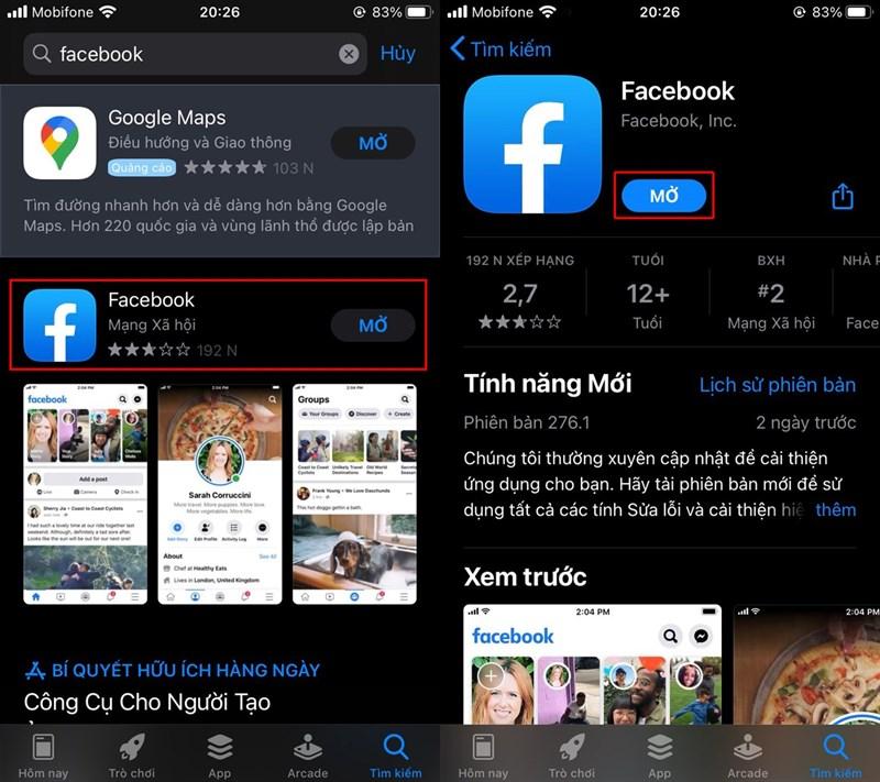 Facebook trên iPhone đã có Darkmode và đây là cách bật lên cực dễ 1