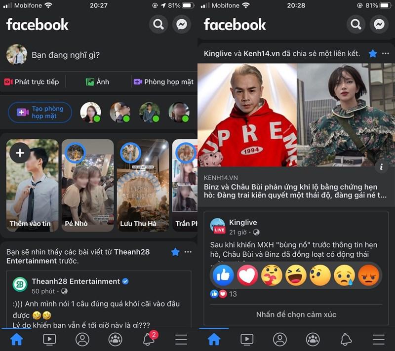 Facebook trên iPhone đã có Darkmode và đây là cách bật lên cực dễ 3