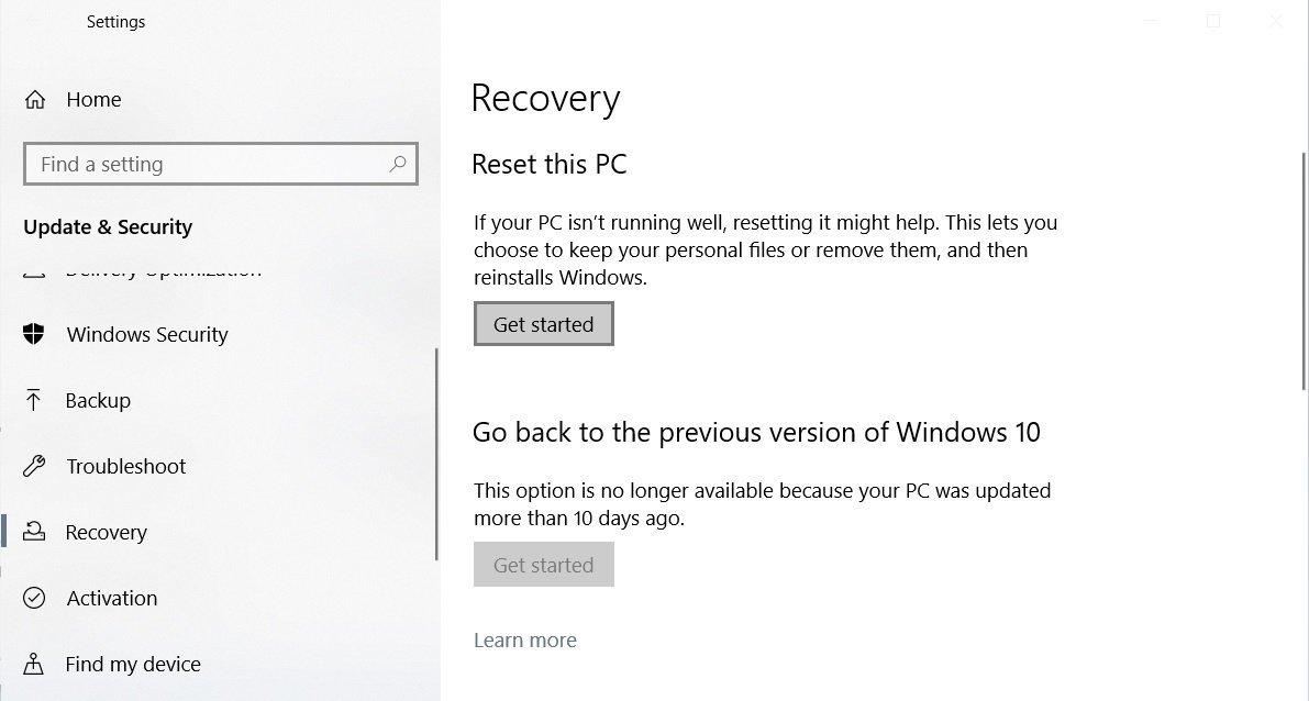 Cách cài lại Windows 10 từ đám mây của Microsoft bằng tính năng Cloud Recovery 3
