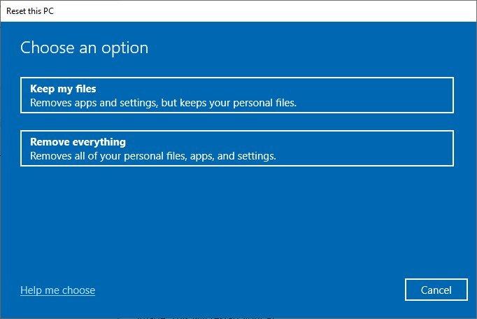 Cách cài lại Windows 10 từ đám mây của Microsoft bằng tính năng Cloud Recovery 4