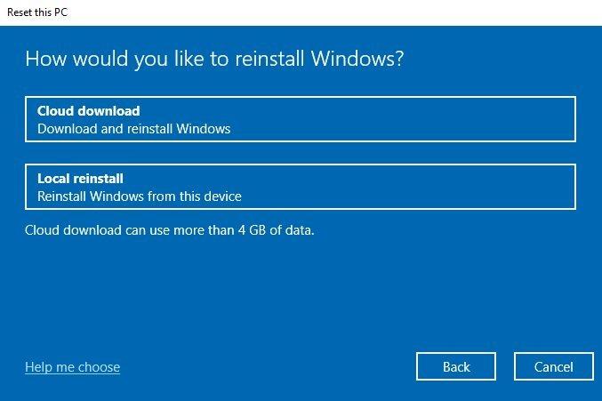 Cách cài lại Windows 10 từ đám mây của Microsoft bằng tính năng Cloud Recovery 5