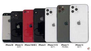 Tất cả những chiếc iPhone 12 đọ dáng với loạt iPhone hiện tại của Apple 23