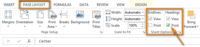 Cách lặp lại tiêu đề trong Excel khi in 10