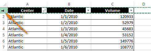Cách lặp lại tiêu đề trong Excel khi in 3