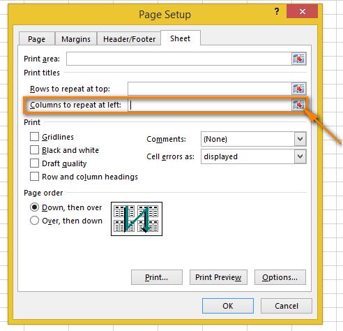 Cách lặp lại tiêu đề trong Excel khi in 7