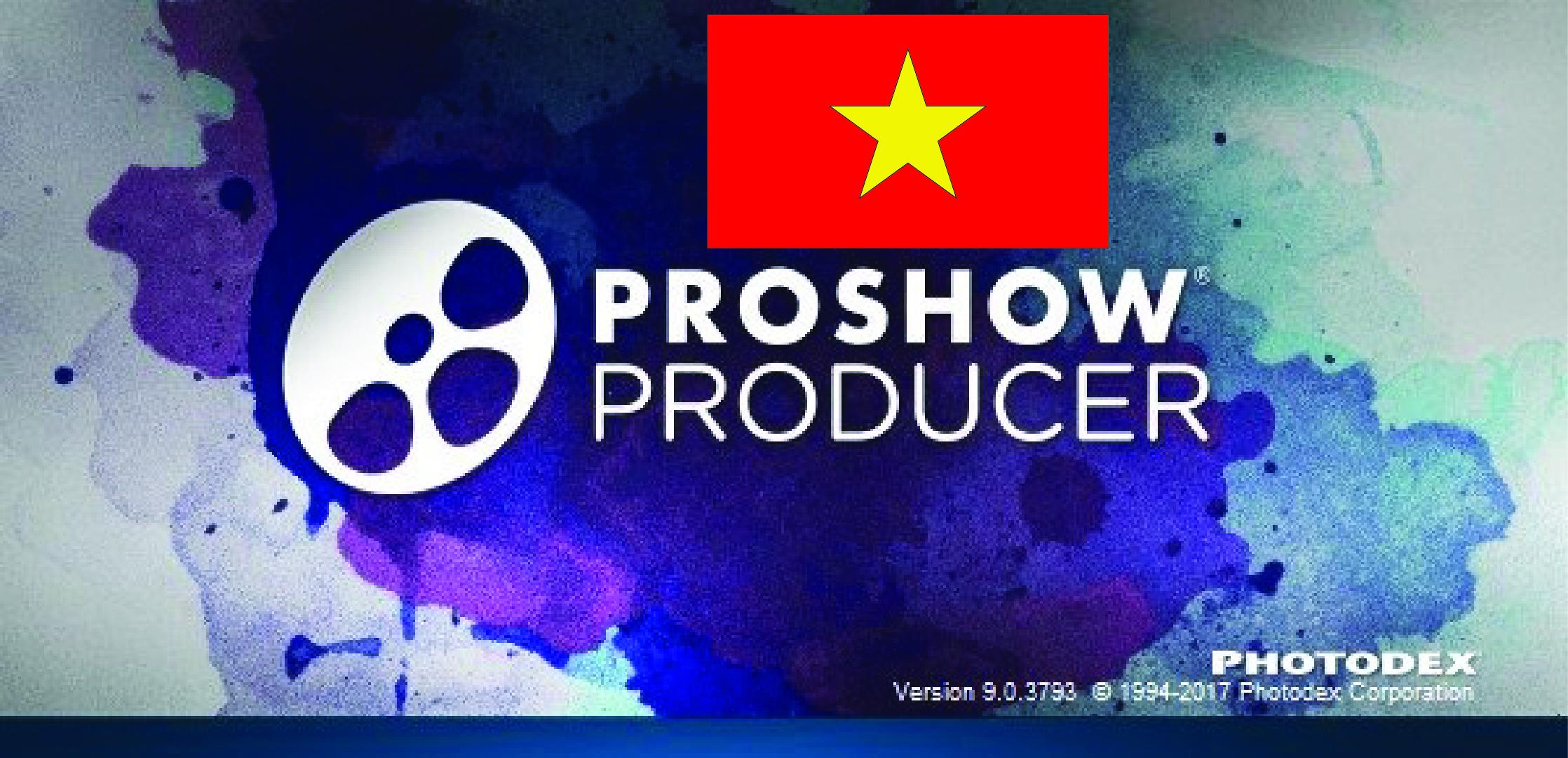 Viết tiếng Việt trong Proshow siêu dễ