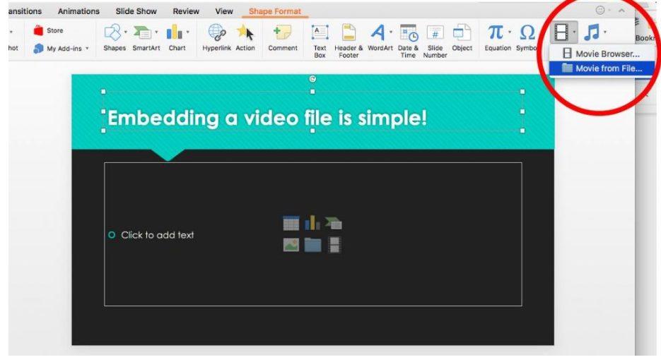 Hướng dẫn cách chèn video vào PowerPoint đỉnh cao trong vòng 60 giây 5