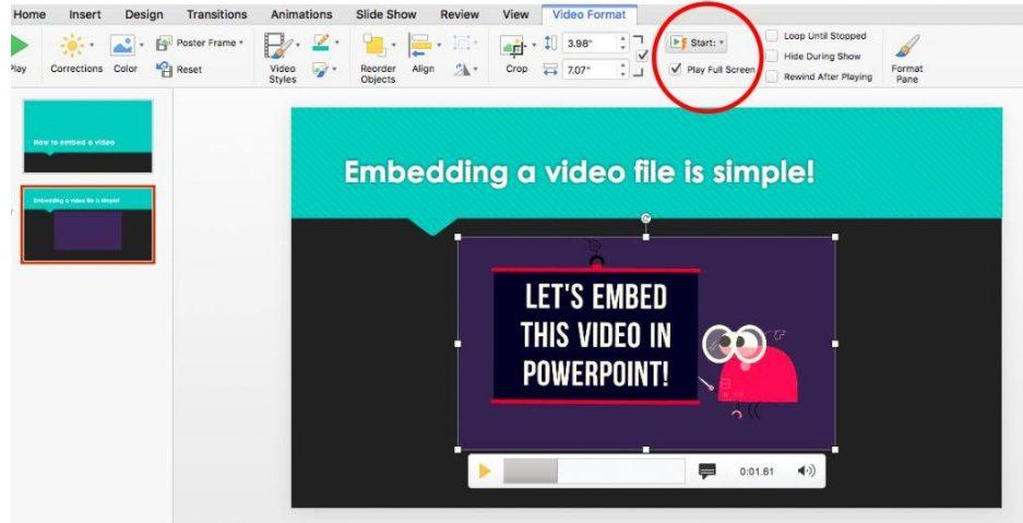 Hướng dẫn cách chèn video vào PowerPoint đỉnh cao trong vòng 60 giây 7