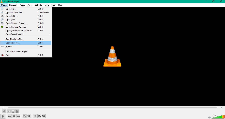 quay màn hình bằng VLC
