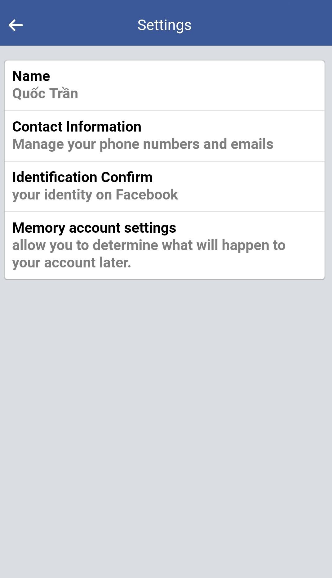 3 cách đổi tên Facebook thành 1 chữ đơn giản trong chớp mắt 9