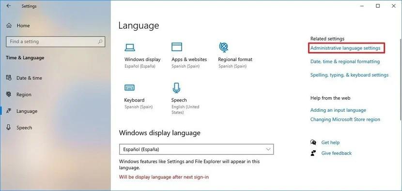 Thay đổi ngôn ngữ Windows 10 - tưởng khó mà lại dễ 6