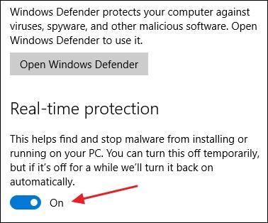 Cách Tắt Windows Defender Win 10 Vĩnh Viễn 3
