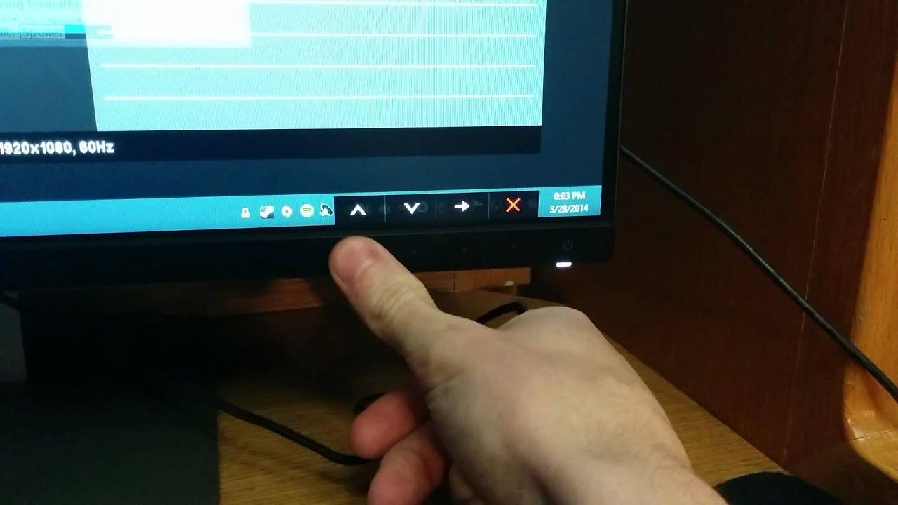 Cách chỉnh độ sáng màn hình máy tính.