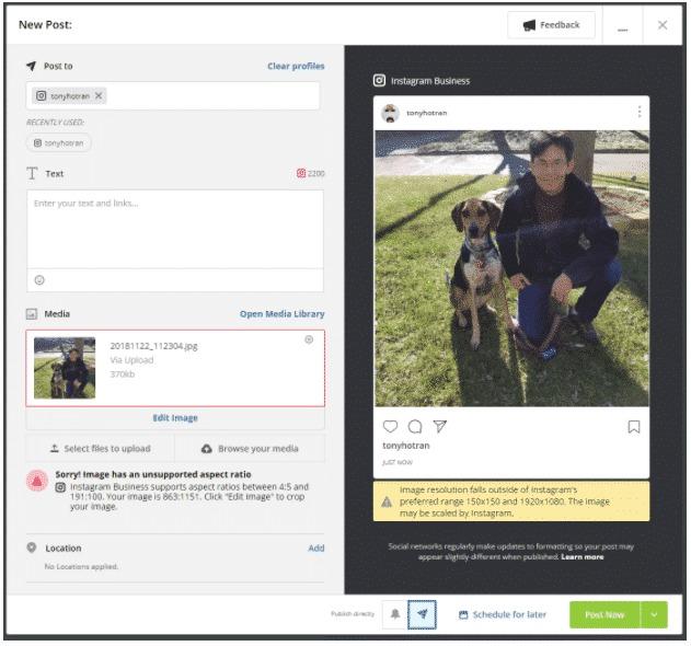 2 cách đăng bài trên Instagram bằng máy tính ít người biết 14