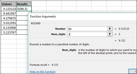 3 cách làm tròn số Excel bằng hàm ROUND cực đơn giản, dễ làm 26