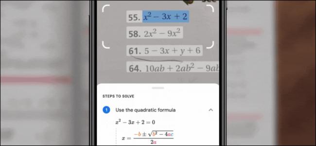 phá đảo các bài toán cùng với Google Lens