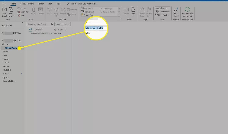 Cách tạo folder trong Outlook biến việc quản lý mail không còn là ác mộng 3