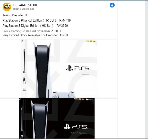 Giá PS5 tăng vọt lên hơn 10.000 USD do sốt hàng và khan hiếm 5