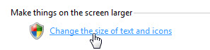 Thư giãn đôi mắt khi làm việc bằng 2 bí quyết thay đổi cỡ chữ trong Windows 7 2