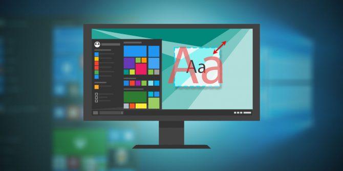 Thư giãn đôi mắt khi làm việc bằng 2 bí quyết thay đổi cỡ chữ trong Windows 7