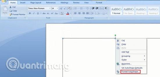 cách tạo khung bìa trong word 2013
