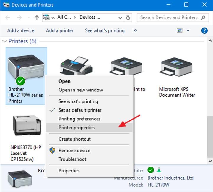 Cách chia sẻ máy in qua mạng LAN trên Windows 7, 8 và 10 siêu dễ 7