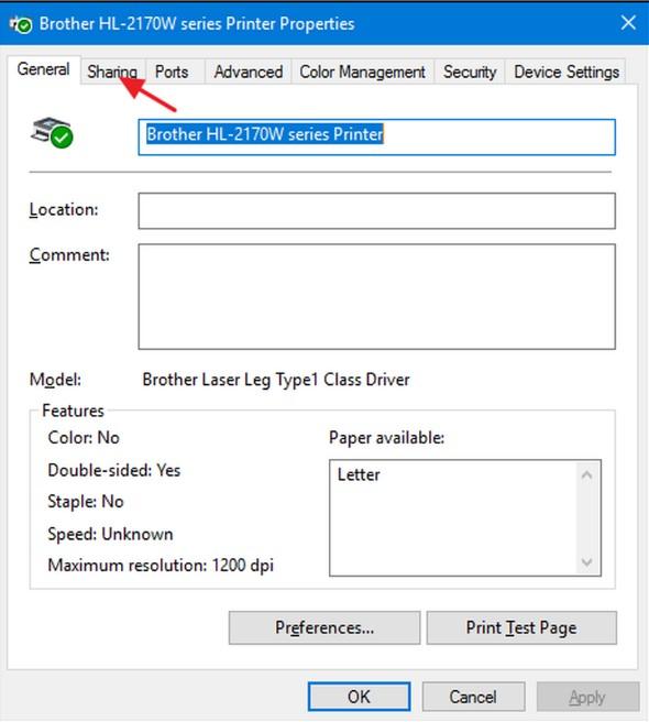 Cách chia sẻ máy in qua mạng LAN trên Windows 7, 8 và 10 siêu dễ 8