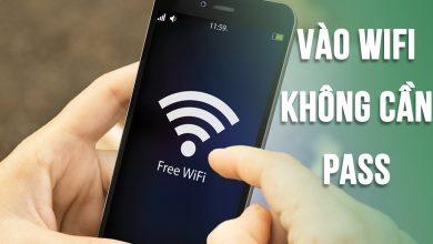 Hướng dẫn cách vào Wi-Fi không cần mật khẩu vô cùng dễ làm 5