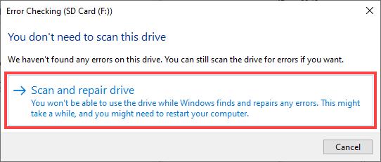 Top 5 phần mềm sửa lỗi thẻ nhớ SD cực đỉnh mà bạn không nên bỏ qua 41